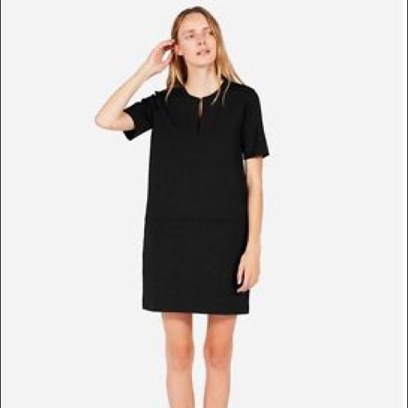 04dfcf385e0 Everlane Dresses   Skirts - Everlane Ponte Short Sleeve Dress Black XS