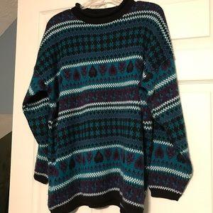 Oversized vintage sweater size large
