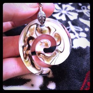 Jewelry - Decorative Glass Statement Piece Pendant Charm