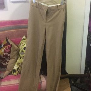 Jcrew size 2 tan wool Hutton trouser