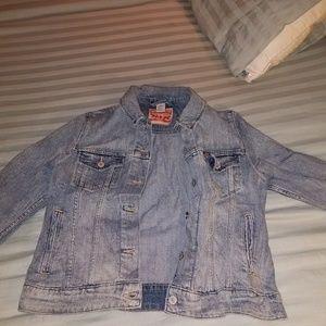 Levis light denim jacket