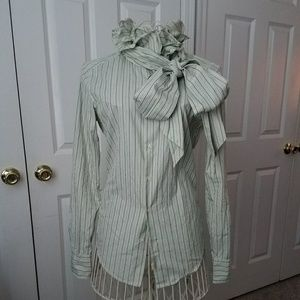 Ralph lauren striped blouse