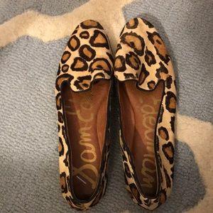 Sam Edelman leopard flats