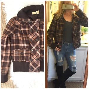 Mudd Plaid Flannel Jacket