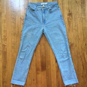 American Apparel High-waist Jeans