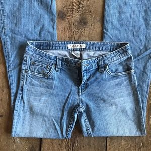 Maurices Hipster Flare Jeans size 3/4