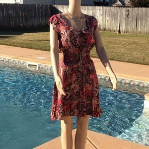 American Rag Colorful, Paisley, Floral Sundress