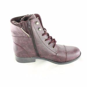 NEW MUDD KOHLS Purple Fold Down Boots Size 8M