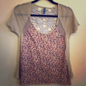 Free People small crochet top