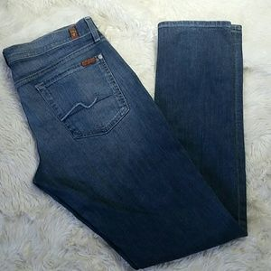 7 For All Mankind Skinny Roxanne Jean Plus Size 32