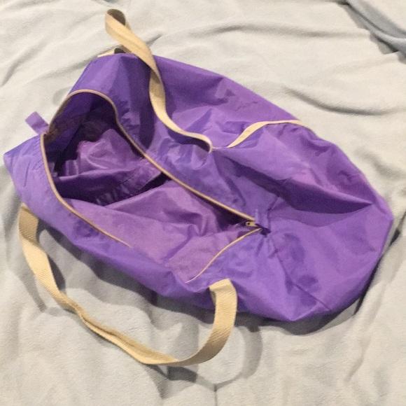 a049bfa70801 American Apparel Handbags -   Rare   American Apparel Purple Gym Bag