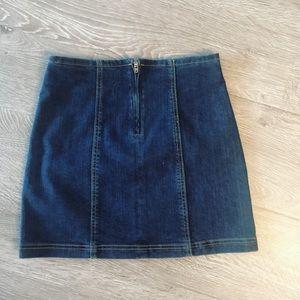 Denim mini skirt by Carmar- NWT