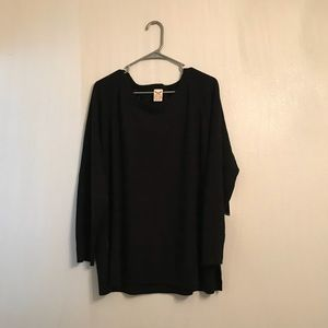 Faded Glory Crew Textured Sweater Plus Size 3X