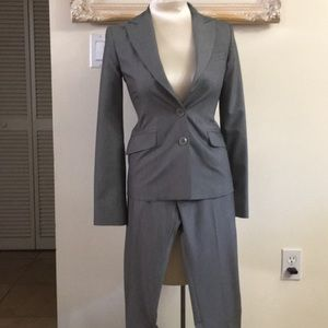 Gray suit by BCBG