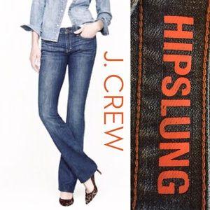 🦐J. Crew Hipslung bootcut jeans 👖
