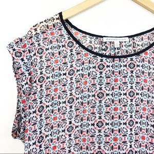 Daniel Rainn Women's Blouse Multi Color Size M