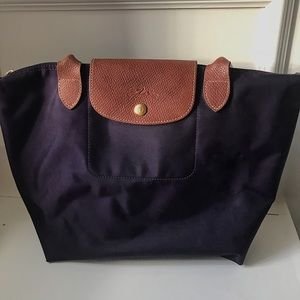 LONGCHAMP purple bag