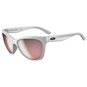 Women's Oakley Fringe White Sunglasses