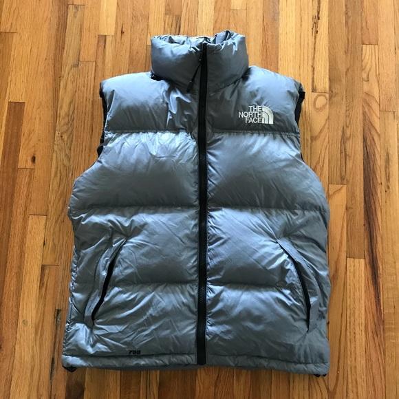North Face Jackets Coats Nuptse 700 Down Vest Mens Medium Poshmark