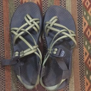 Chacos Green ZX/2 Classic Sandals