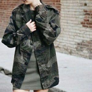 Brandy Melville camo jacket