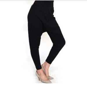 Black harem pants XS/S