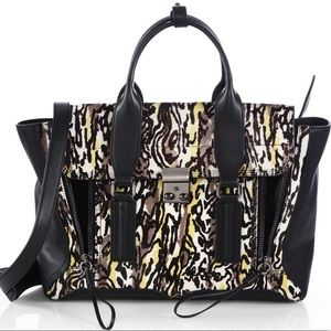 Phillip Lim Medium Pashli mixed media satchel
