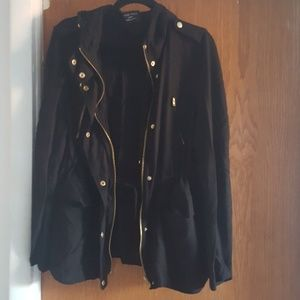 LOVE TREE jacket Black amd gold toned