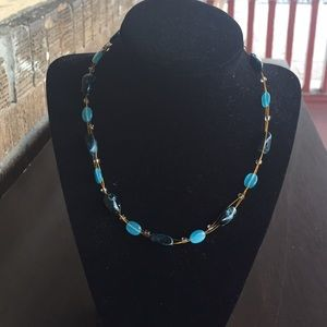 Jewelry - Caribbean Sea Beaded Handmade Necklace