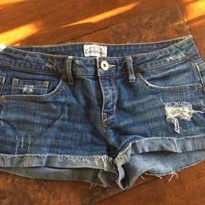 Aeropostale jean shorts 5/6