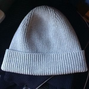 All Saints 100% Cotton Knit Beanie Hat