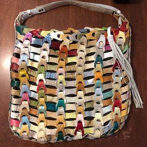 Anthropologie De De Multicolor Hobo Bag