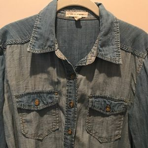 Urban Outfitters Chambray Button-Down