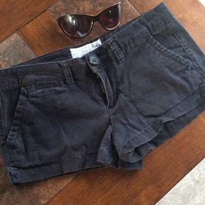 Black Aeropostale shorts size 5/6