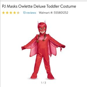 Toddler owlette costume