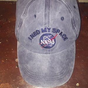 i need my space NASA hat