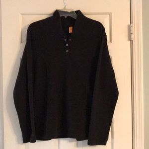 Lucy black fleece pullover