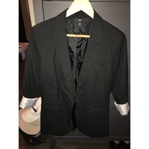 Black women's blazer size M