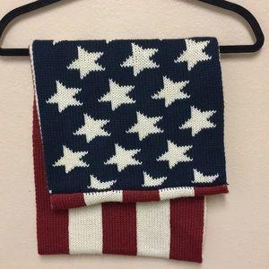 Boutique    America Flag Scarf