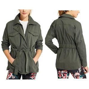 Derek Lam/Athleta army green cargo style jacket S