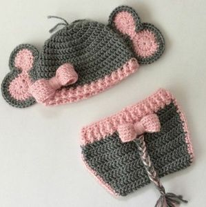 HANDMADE BABY CROCHET SETS