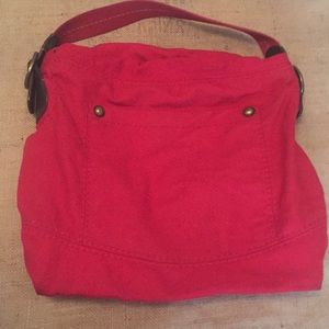 Slouchy wool purse
