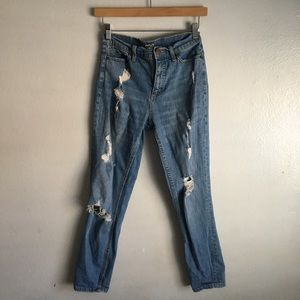 Bdg distressed mom jeans