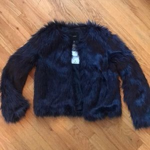 Brand new Forever 21 faux fur coat