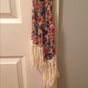 Anthropologie skinny scarf
