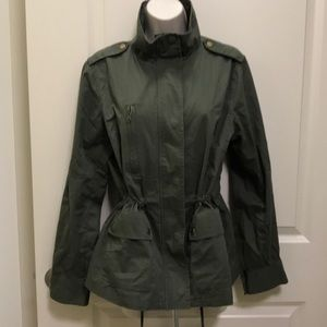 Military green jacket. New never worn.