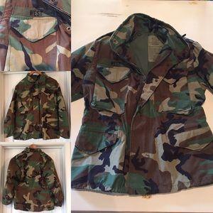 U.S. Army Military Camouflage Jacket