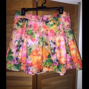 Aeropostale Floral Skirt Size XL NWOT
