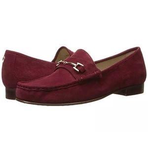 Sam Edelman Talia Slip On Loafers, Tango Red, 9.5
