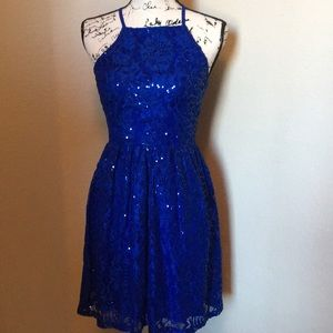 Adorable blue party dress. Worn once!